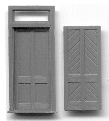 Wonderful 5058, STATION DOOR W/FRAME AND TRANSOM Door And Frame Separate Pieces. Door  Has Diagonal Sheathing On One Side, Flat Panels On The Other . ...