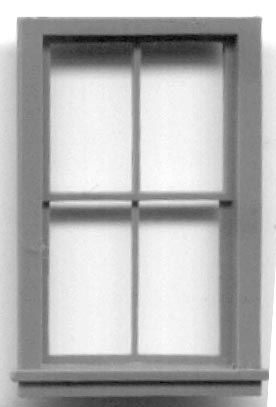 Ho Scale Framed Windows Grandt Line Products