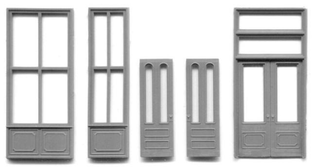 HO Scale – Door & Window Sets – Grandt Line Products