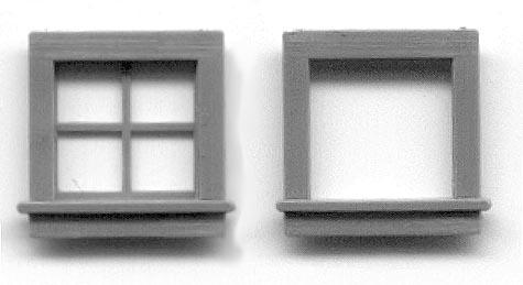 Ho Scale Small Amp Attic Windows Grandt Line Products