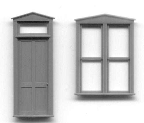 Ho Scale Door Amp Window Sets Grandt Line Products