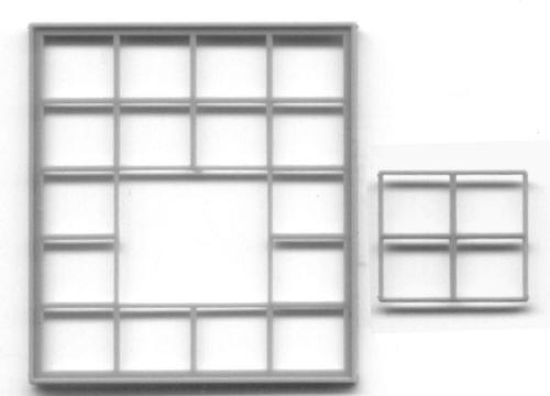 Ho Scale Masonry Windows Grandt Line Products