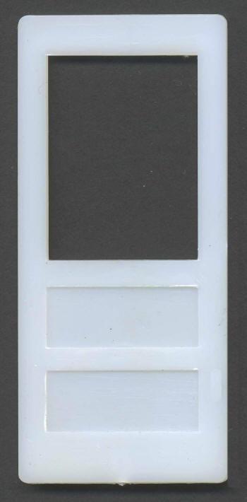 670769, 2 Panel Door, 36u2033 X 80u2033 Window On Top For Screen Or Glass