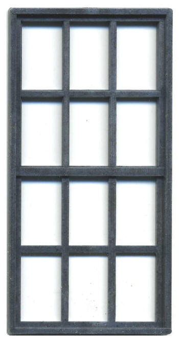 36 x 72 window 8ft 670841 house or factory window double hung 36u2033 72u2033 12u2033 scale windows grandt line products